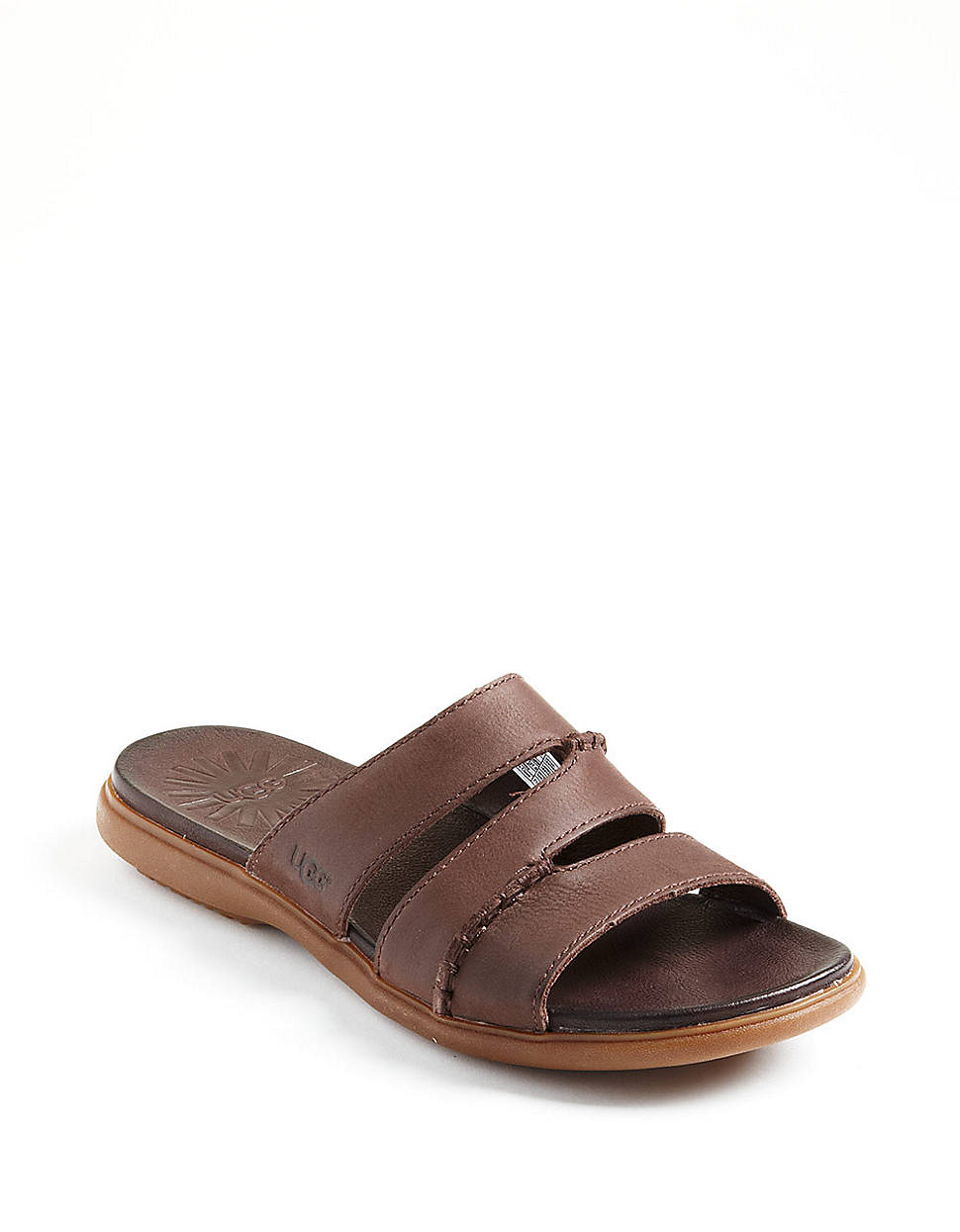 0850aa5f47ae7 Ugg Rineland Leather Sandals in Brown for Men