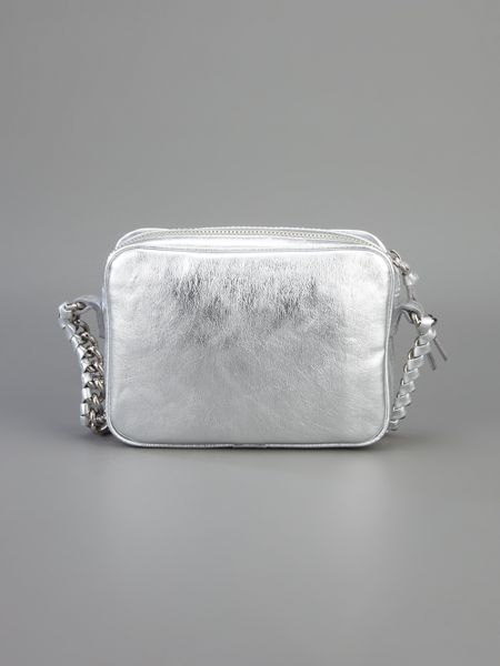 Small Silver Shoulder Bag 50