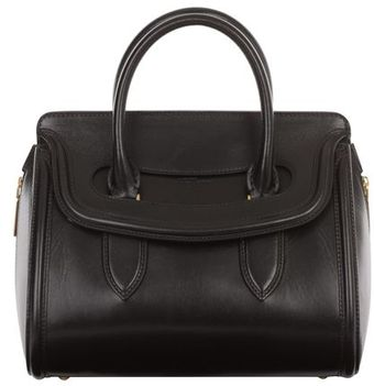 Alexander McQueen Small Leather Heroine - Lyst