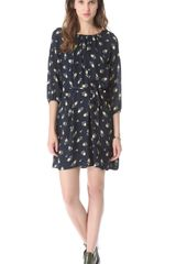 Band Of Outsiders A Line Dress - Lyst