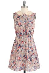 ModCloth Tea To Go Dress - Lyst