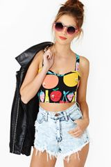 Nasty Gal Fruity Bustier - Lyst