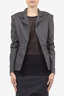 Acne Structured Cotton Blazer - Lyst