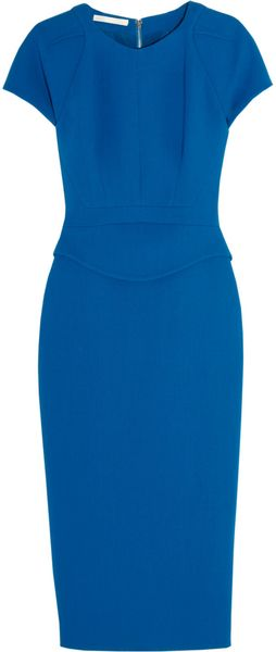 Antonio Berardi Woolcrepe Dress - Lyst