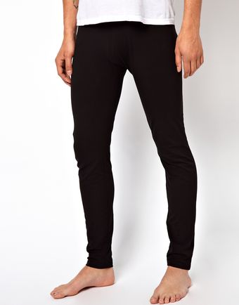 Asos Plain Meggings - Lyst