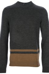 Gucci Striped Sweater - Lyst