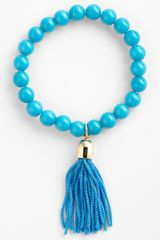 Tasha Beaded Stretch Bracelet - Lyst