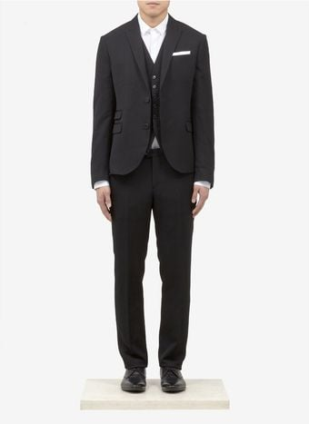 Neil Barrett Slimfit Three Piece Suit - Lyst