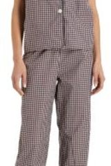 Steven Alan Plaid Pajama Top - Lyst