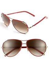 Chloé 60mm Aviator Sunglasses - Lyst