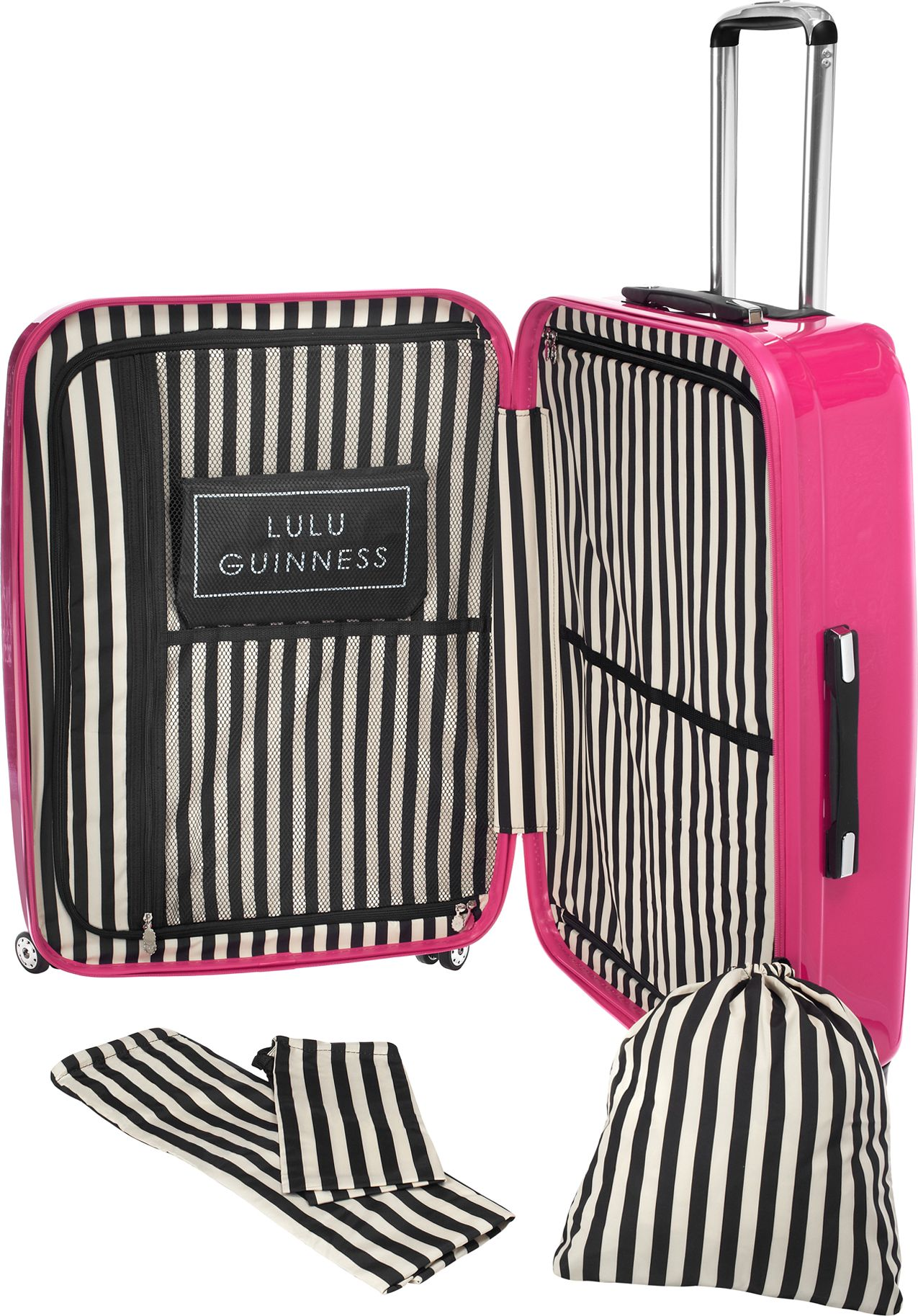 Pink Lips Suitcase | Luggage And Suitcases