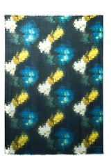 Marc By Marc Jacobs Pixelatedprint Fine Knit Scarf - Lyst