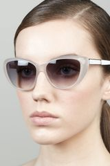 Marc By Marc Jacobs Cateye Sunglasses - Lyst