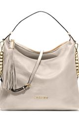 Michael by Michael Kors Large Weston Pebbled Shoulder Bag - Lyst