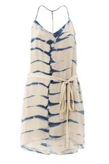 Raquel Allegra Tiedye Halter Dress - Lyst