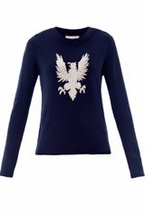 Sea Gryphon Embroidered Sweater - Lyst