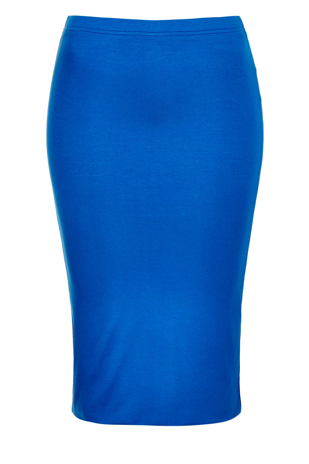 topshop layer skirt in blue bright