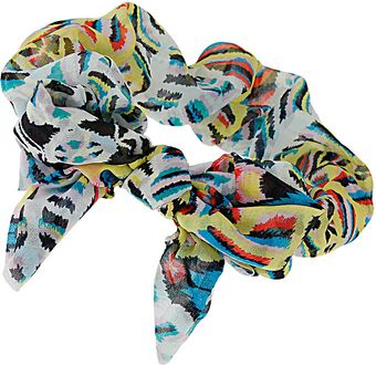 Topshop Multicoloured Bow Headband - Lyst
