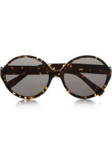 Yves Saint Laurent Roundframe Acetate Sunglasses - Lyst