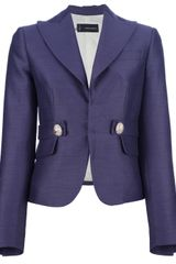 DSquared2 Cropped Fitted Blazer - Lyst