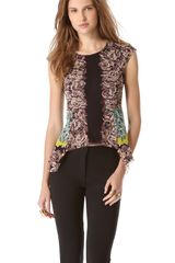 Jean Paul Gaultier Sleeveless Top - Lyst
