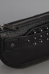 McQ by Alexander McQueen Studded Leather Clutch - Lyst