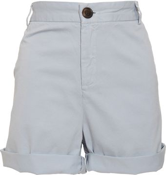 Current/Elliott Captain Roll Chino Shorts - Lyst