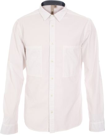 Edun Utility Tailored Cotton Twill Shirt - Lyst