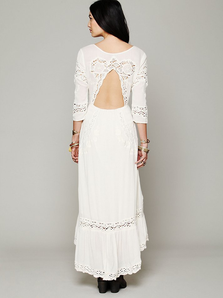 Free People Mexican Wedding Dress In White Lyst