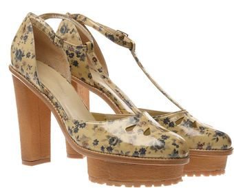 Opening Ceremony Platform Leather Mary Janes - Lyst