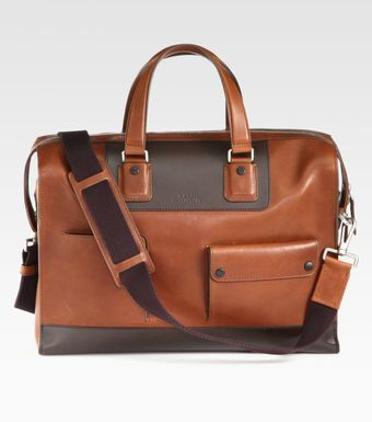 Bally Leather Weekend Duffel - Lyst