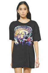 Christopher Kane Brain Printed Cotton Jersey Tshirt - Lyst