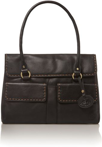 Dickins & Jones Black Surrey Work Bag - Lyst