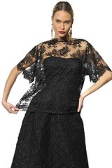 Dolce & Gabbana Chantilly Lace Top - Lyst