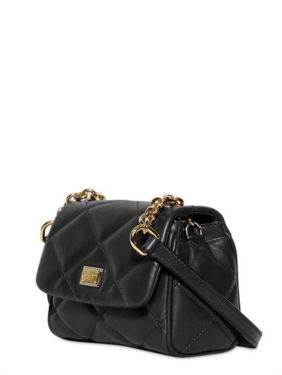 Big Discount Online Dolce & Gabbana quilted logo shoulder bag Discount Original Choice Cheap Price Marketable Cheap Online High-Quality Cheap vBipjX5fkQ