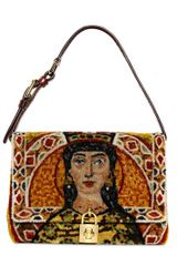 Dolce & Gabbana Embroidered Queen Dolce Bag - Lyst