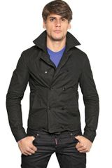 DSquared2 Metal Wired Waxed Cotton Kaban Jacket - Lyst