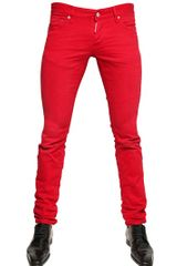 DSquared2 185cm Dyed Bull Slim Fit Denim Jeans - Lyst