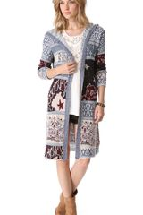 Free People Bandana Cardigan - Lyst
