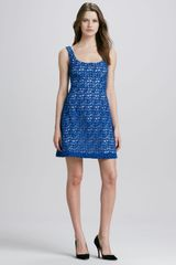 French Connection Wilma Sleeveless Lace Dress - Lyst