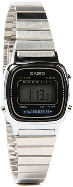 g shock the small digital in silver lyst