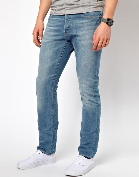 G-star Raw Jeans 3D Cure Denim Raw in Blue for Men
