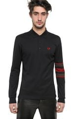 Givenchy Hdg Cuban Fit Cotton Piquet Polo - Lyst