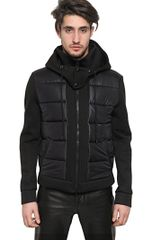 Givenchy Neoprene Nylon Casual Jacket - Lyst
