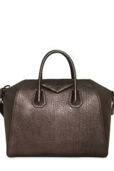Givenchy Medium Antigona Laminated Leather Bag - Lyst