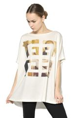 Givenchy Printed Cotton Jersey T-Shirt - Lyst