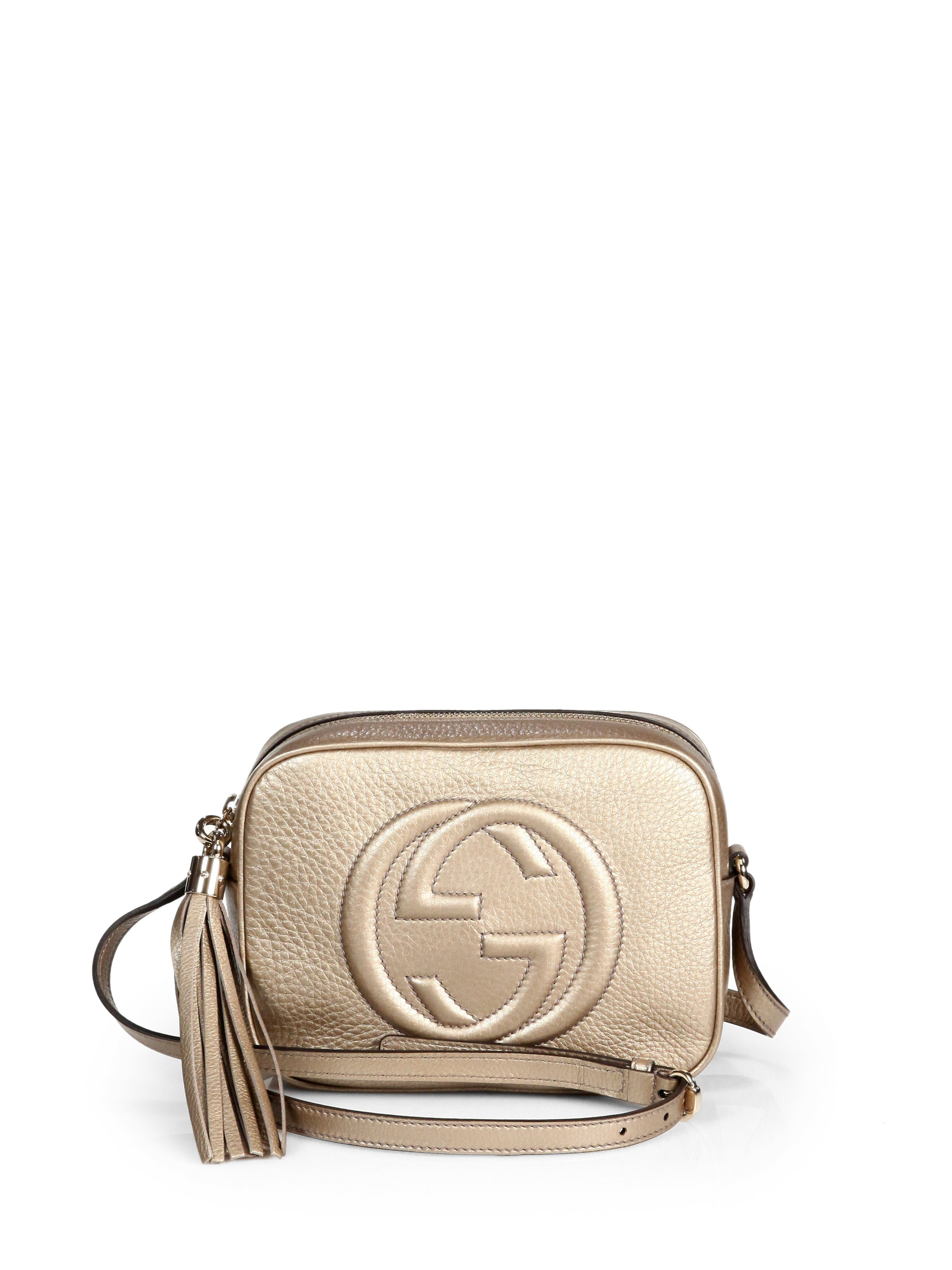76d4c0bf0c4 Gallery. Previously sold at  Saks Fifth Avenue · Women s Gucci Soho Bag