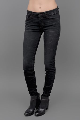 J Brand Red Stitch Skinny Jean Lightning - Lyst