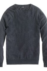 J.Crew Tall Cotton Cashmere Crewneck Sweater - Lyst