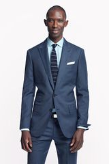 J.Crew Ludlow Peak Lapel Suit Jacket with Double Vent in Heathered Italian Wool - Lyst